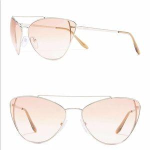 NWT Prada 68 mm Cat-Eye Sunglasses
